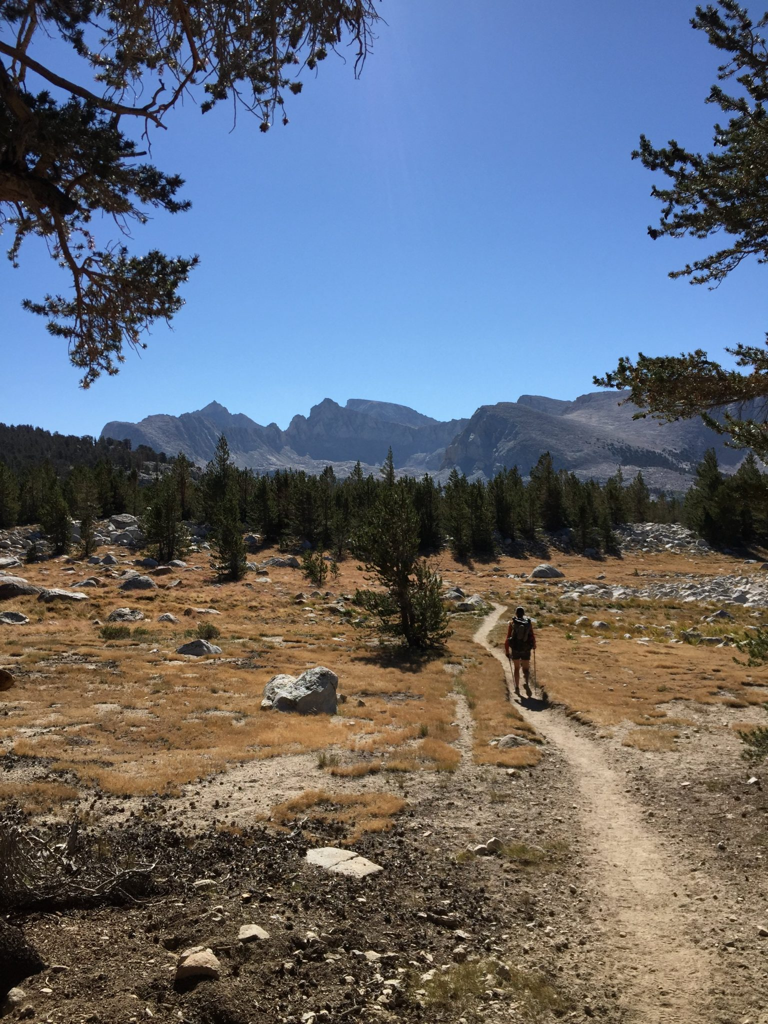 Mt. Whitney from Bighorn Plateau (1)