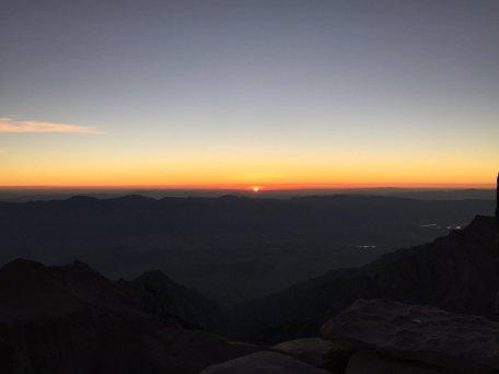 Sunrise on the summit of Mt. Whitney (15)