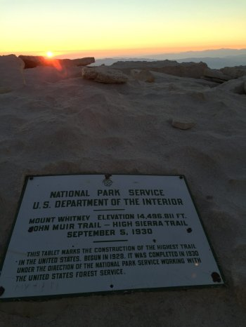 Sunrise on the summit of Mt. Whitney (17)