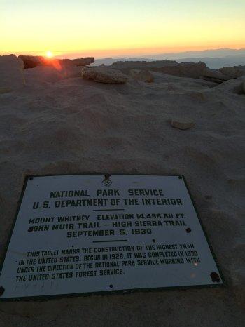 Sunrise on the summit of Mt. Whitney (17)