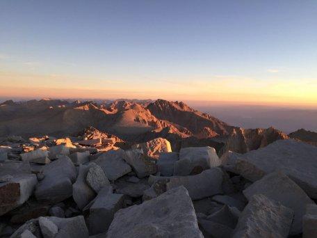 Sunrise on the summit of Mt. Whitney (20)