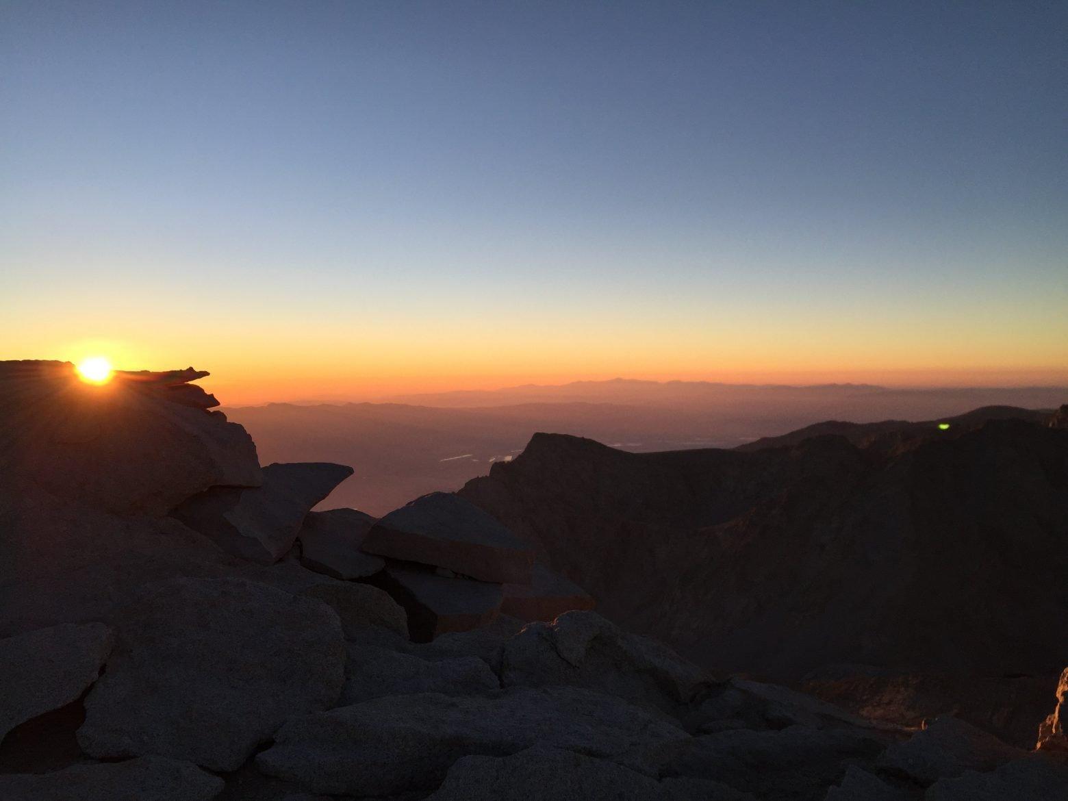 Sunrise on the summit of Mt. Whitney (22)