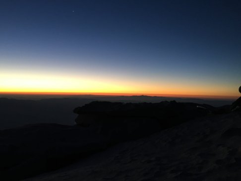 Sunrise on the summit of Mt. Whitney (7)