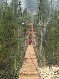 Suspension Bridge over Woods Creek (3)