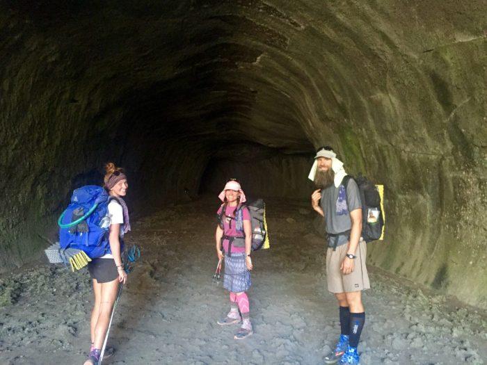 Gazelle Sweet Pea and Beardoh entering Subway Cave