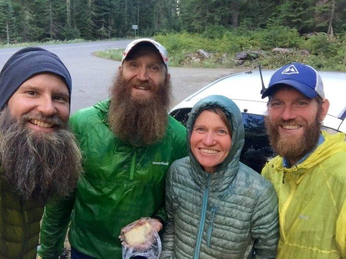 Beardoh QBall Sweet Pea and Mountain Man