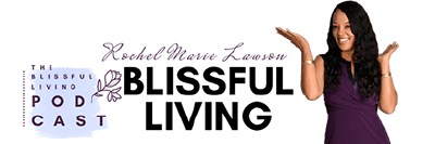 Blissful Living Podcast Logo