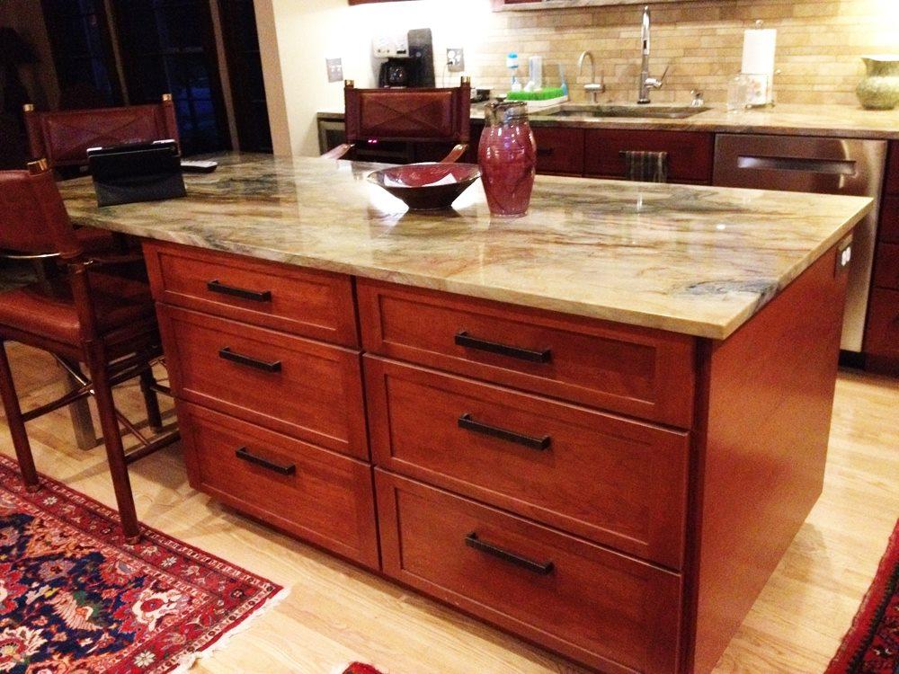 Fusion Quartzite Countertop Stone City Kitchen Amp Bath Design