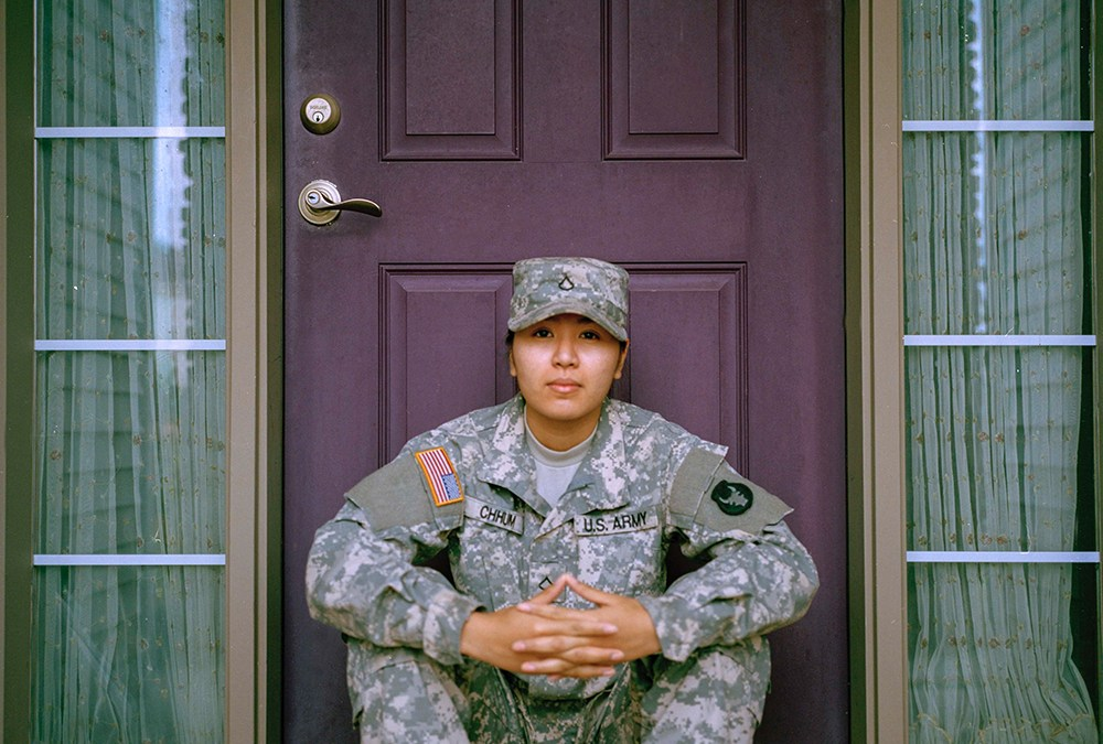 The Big Picture: New Servicewomen Choose Jesus as their Battle Buddy