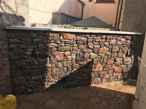 stone wall torbay