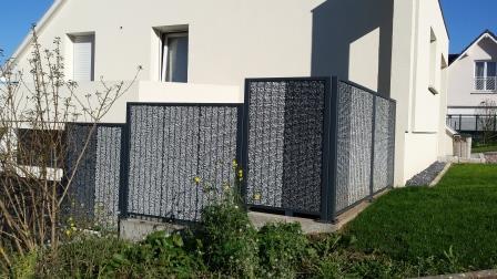 Habillage gabion mur et facade (4)