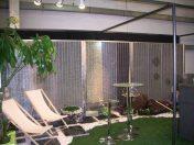 Show room Stonefence en Alsace avec panneaux modulaires gabion