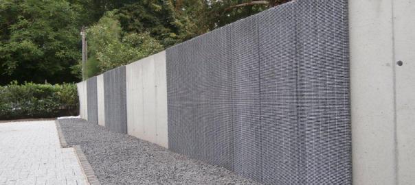 Nouveaux Parements De Mur En Pierres À L'Extérieur En Alsace