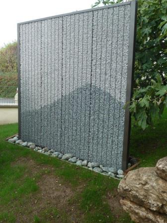 Panneau brise vue Stone Fence