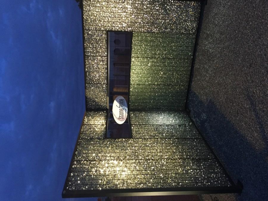 Gabions design Stonefence verre 2