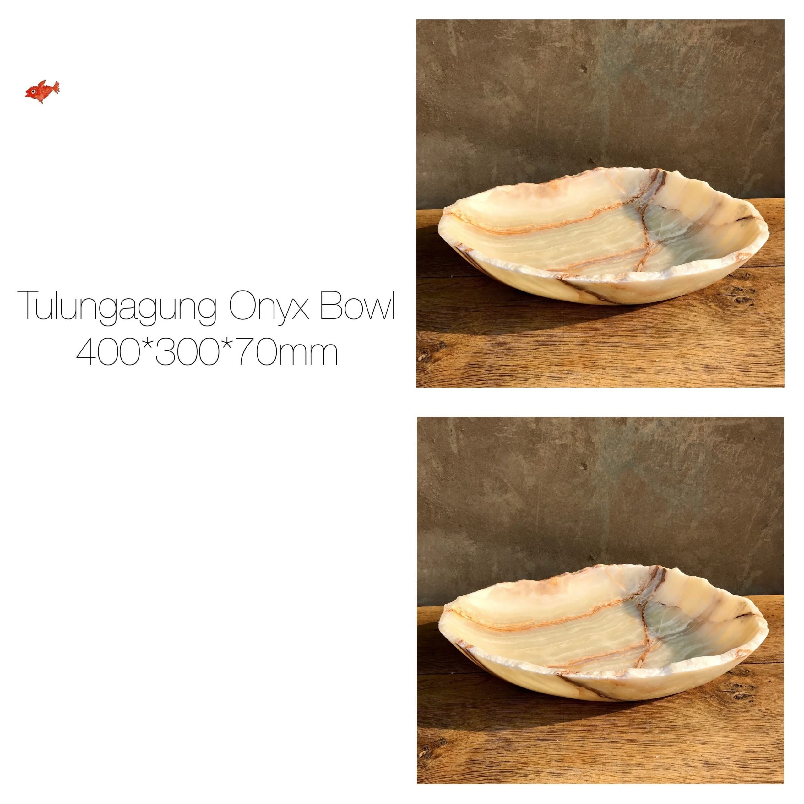 Tulungagung Onyx Bowl