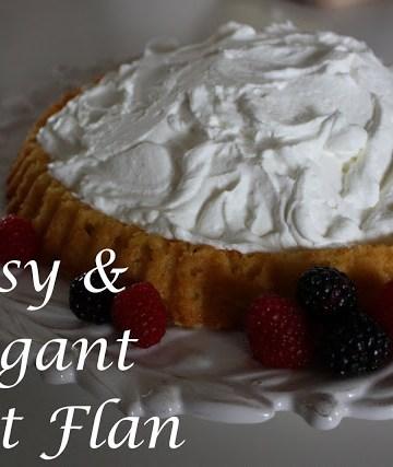 Easy Fruit Flan