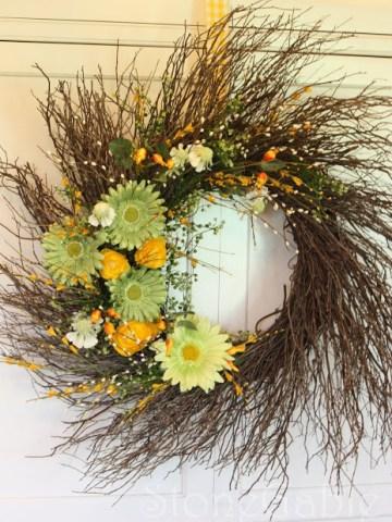 Summer Wreath Tutorial