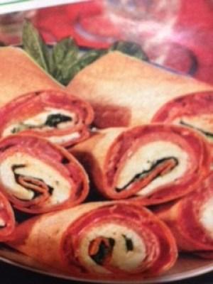 Itailian Pepperoni Wraps