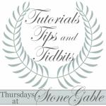 TUTORIALS TIPS AND TIDBITS #44 AND GIVEAWAY