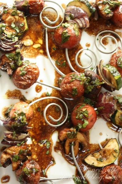 Grilled Vegetables With Balsamic Dressing stonegableblog.com 15