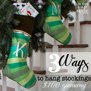 3-ways-to-hang-Christmas-stockings