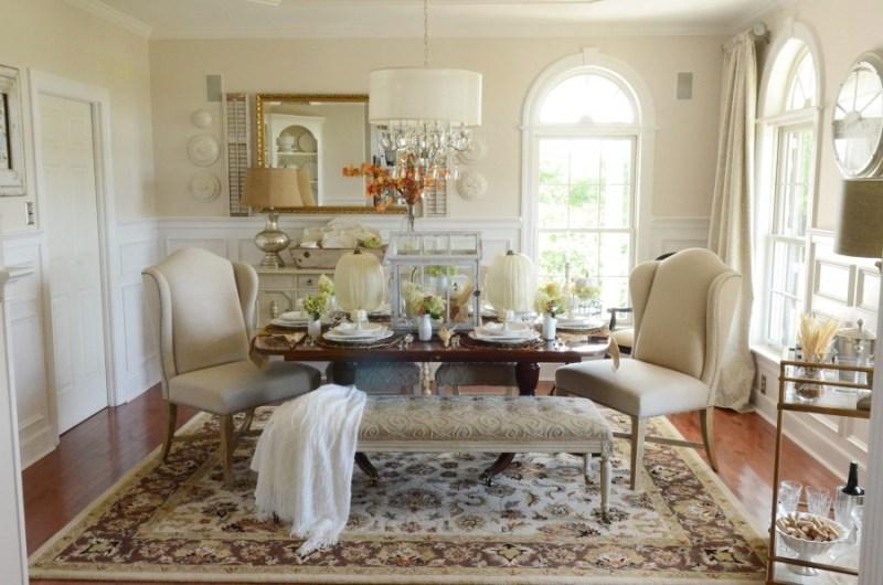 Thanksgiving In The Dining Room 2--stonegableblog.com