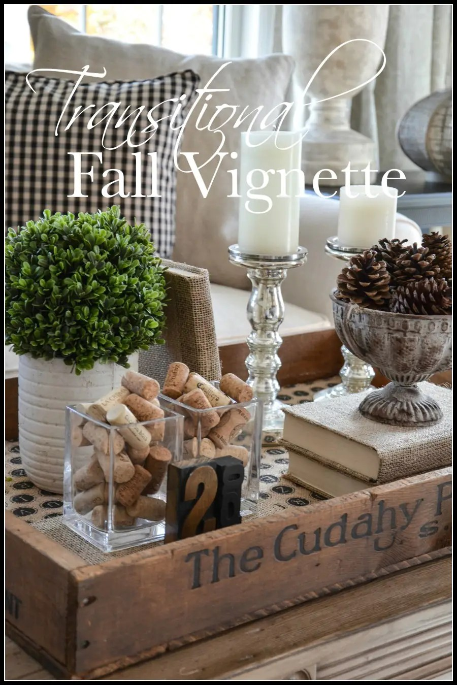 Transitional Fall Vignette