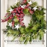 REPURPOSING A CHRISTMAS WREATH