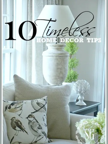 10 TIMELESS HOME DECOR TIPS