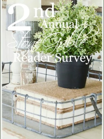 2ND ANNUAL STONEGABLE READER SURVEY