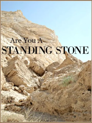 ARE YOU A STANDING STONE?