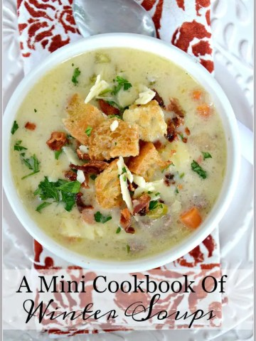 A MINI COOKBOOK OF WINTER SOUPS
