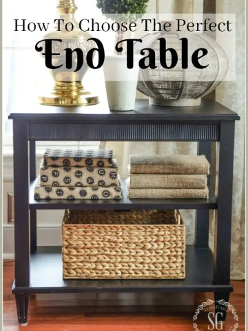 HOW TO CHOOSE THE PERFECT SIDE TABLE