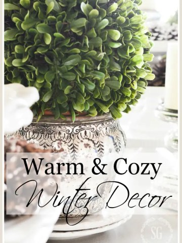 COZY AND WARM WINTER DECORATING