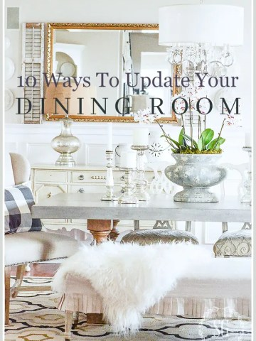 10 WAYS TO UPDATE YOUR LIVING ROOM