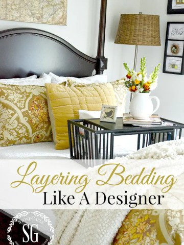 LAYERING BEDDING LIKE A DESIGNER