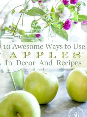 10 AWESOME WAYS TO USE AUTUMN APPLES IN DECOR AND RECIPES