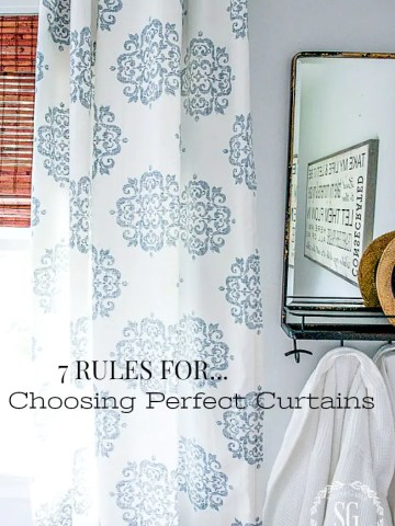 7 RULES FOR CHOOSING PERFECT CURTAINS