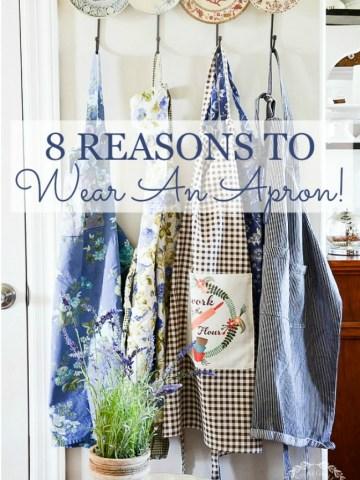 STONEGABLE 8 REASONS TO WEAR AN APRON