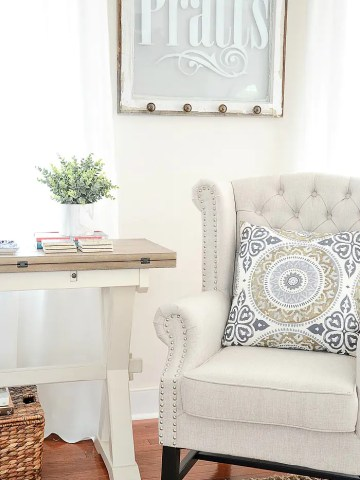 ALTERNATIVES TO THE SIDE TABLE