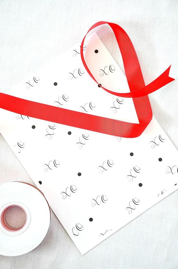 materials to make a paper cone