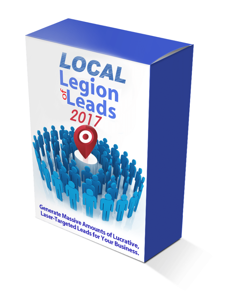 Local Legion of Leads 2017 Review – GET EXCLUSIVE BONUS PACKAGE : Generate Massive Amount Of Lucrative, Laser-Targeted Leads For Your Business
