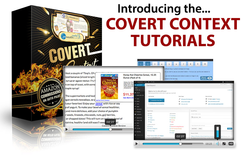 Convert Context Review – NEW POWERFUL SET AND FORGET WORDPRESS PLUGIN: Transforms Any Blog Into A Virtual Cash Cow Milking Amazon For Massive Commission Checks On Complete Auto Pilot