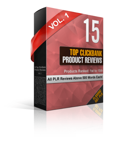 Top ClickBank Product Reviews 2017 PLR Review – GRAB THE BONUS: The Unique and High-Quality Reviews Of The TOP 15 ClickBank Producta Of 2017