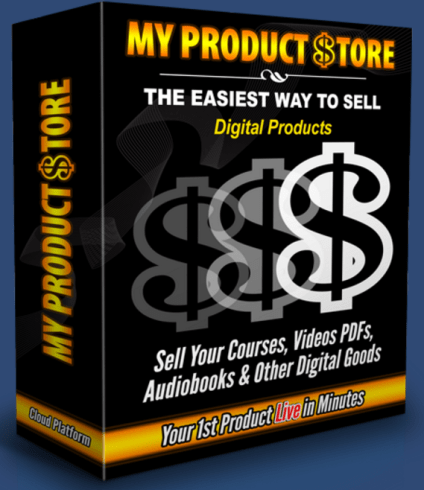 My Product Store Lifetime Review – GET EXCLUSIVE BONUS: Digital Product Sales Platform That Allows Your 1st Product Live In 60 Seconds [The Fastest And Easiest Way To Sell Digital Products And Build Lists: Sell Your Courses, Videos PDFs, Audiobooks & Other Digital Goods]