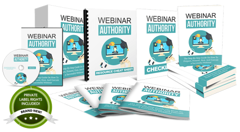Webinar Authority - Done-For-You PLR Package By Aurelius Tjin Review – IS IT SCAM OR WORTH? : Done-For-You Private Label Rights Package You Can Sell As Your Own And Keep 100% Of The Profits!