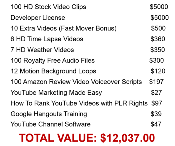 Amazing Stock Video Firesale - Developer's Rights Review – SCAM OR LEGIT? : Powerful Package Of Extremely High Quality Stock Video Clips That Have Never Been Released