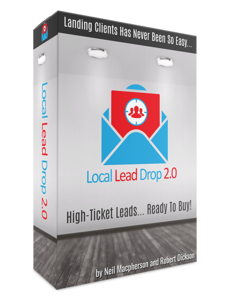 [SCAM OR LEGIT] Local Lead Drop 2.0 Review : Discover A Proven System For Getting High Ticket Leads Literally Dropping Into Your Inbox, Ready To Buy – Forget Cold Calling, Beating Down Doors Or Any Other Client Chasing Methods