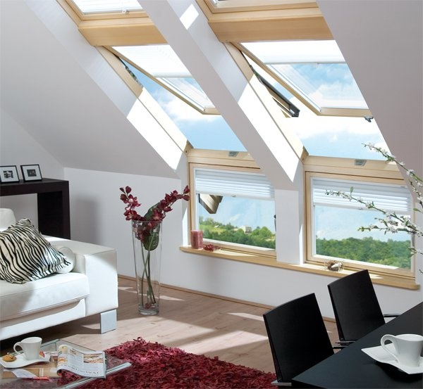 cosy attic design
